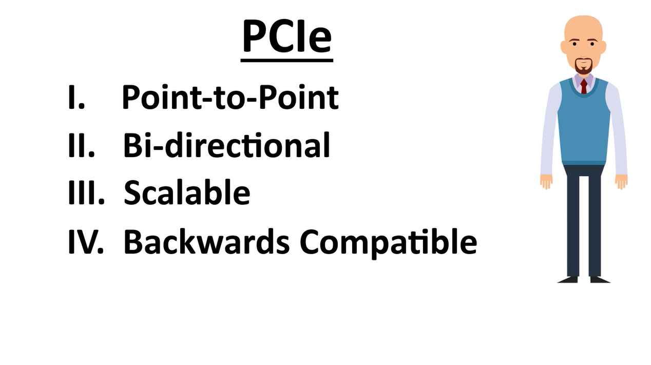 PCIe QuickLearn 1——PCIe概述:数据